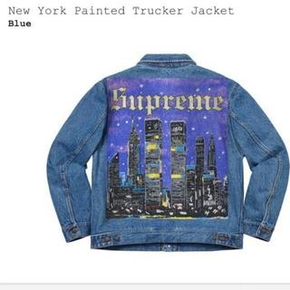 Supreme - M シュプリーム New York Painted Trucker Jacket