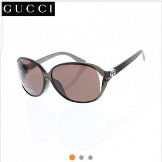 Gucci - 新品未使用!早い者勝!グッチ3792アジアンフィット軽量ライトグレー サングラス
