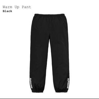 Supreme - supreme warm up pants