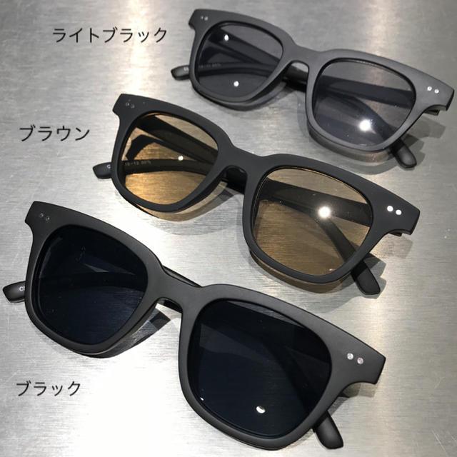 Supreme(シュプリーム)のsunkak 新作 TYPE2 LIGHT BLACK supreme 窪塚  メンズのファッション小物(サングラス/メガネ)の商品写真