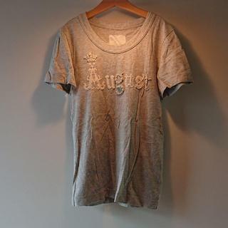 エィス(A)のエィス A レディース Tシャツ グレー アイスグレー(Tシャツ(半袖/袖なし))