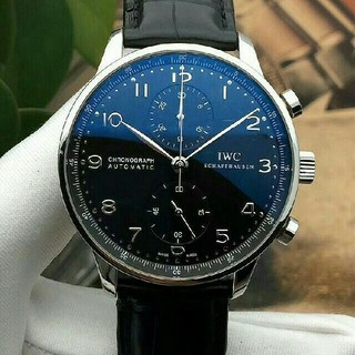 インターナショナルウォッチカンパニー(IWC)のIWC ポルトギーゼ クロノグラフ IW371447 メンズ(腕時計(アナログ))