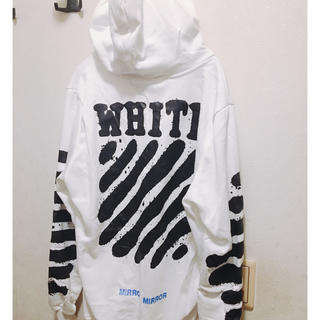 OFF-WHITE - 正規品OFF WHITE パーカー