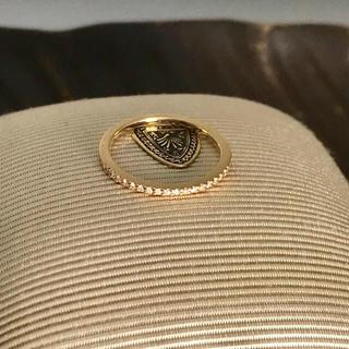 アガット(agete)のagete アガット ダイヤピンキーリング(リング(指輪))