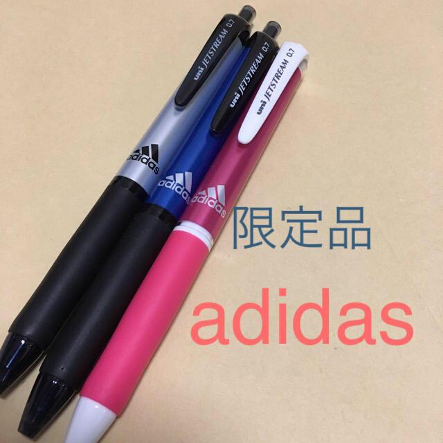 adidas(アディダス)のアディダス  ジェットストリーム  ボールペン インテリア/住まい/日用品の文房具(ペン/マーカー)の商品写真