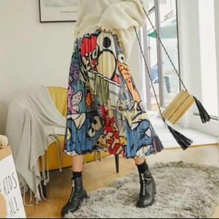 SESAME STREET - セサミストリート 新品 プリーツスカート