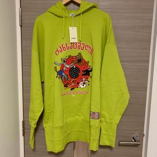 VETEMENTS cartoon embroiderd hoodie
