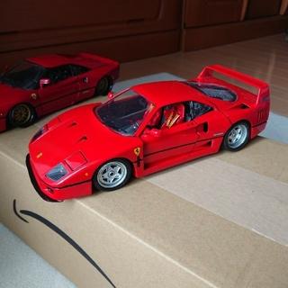 フェラーリ(Ferrari)のフェラーリF40 ブラーゴ製(ミニカー)
