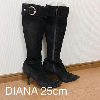 ダイアナ(DIANA)のDIANA ダイアナ 25cm スエードブーツ(ブーツ)