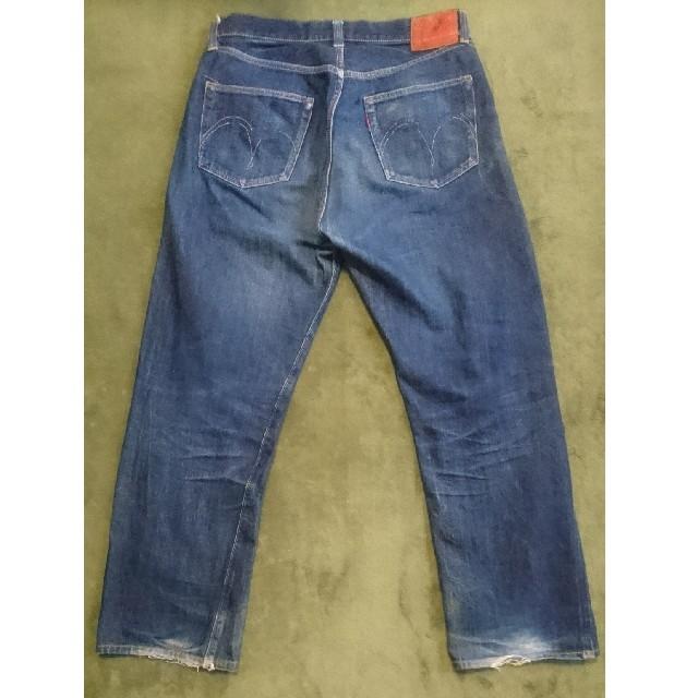 Sugar Cane(シュガーケーン)のSUGAR CANE Lot1947 アーキュエイトステッチ 赤タブ W34 メンズのパンツ(デニム/ジーンズ)の商品写真