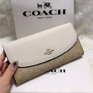 COACH - COACH コーチ 長財布 新品 54022  小銭入れ