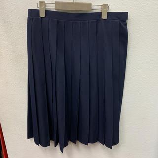 ELLE - 学生服 プリーツ ひだスカート 濃紺 w78