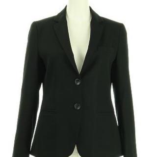 セオリー(theory)のセオリーtheory スーツ テーラードジャケット 黒サイズ0 XS(テーラードジャケット)