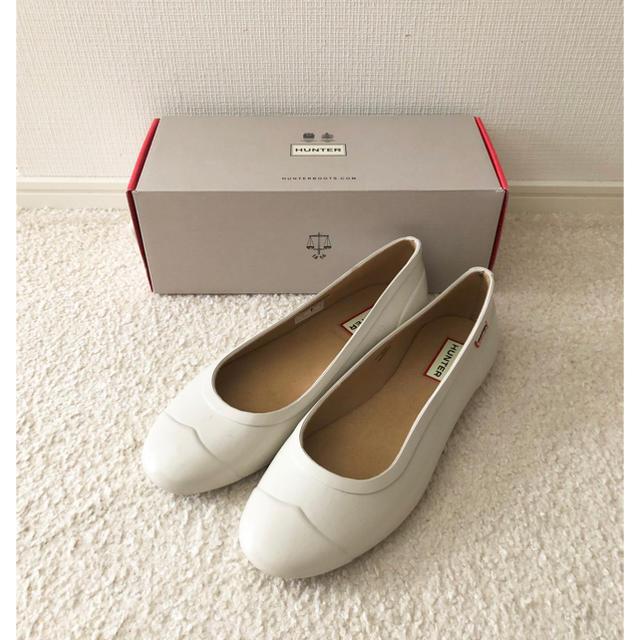 HUNTER(ハンター)のHUNTER フラットレインシューズ ハンター ビームス レディースの靴/シューズ(レインブーツ/長靴)の商品写真