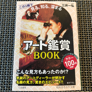 【サイン本】「アート鑑賞BOOK この1冊で《見る、知る、深まる》」★三井一弘