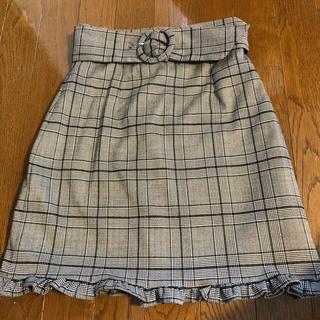 evelyn - 値下げしました evelyn ベルト付きスカート
