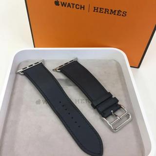 アップルウォッチ(Apple Watch)の純正 シンプルトゥール インディゴ Apple Watch 42mm用(その他)