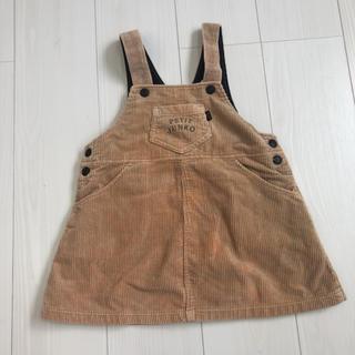 ファミリア(familiar)の美品 /petit junko ワンピース 100cm(ワンピース)