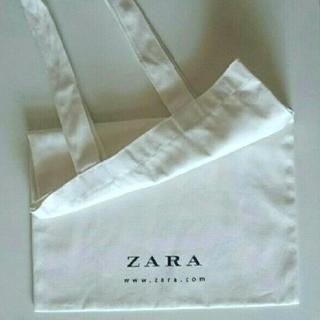 ZARA - ZARA【新品】ロゴ入りトートバッグ