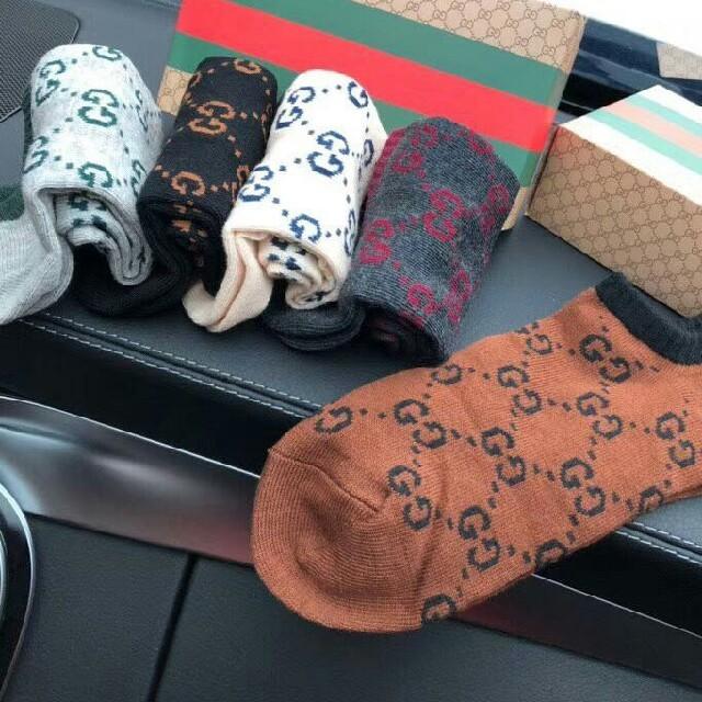 543405d43c17 Gucci - Gucci グッチ ソックス 5足セットの通販 by 泉 武久's shop ...
