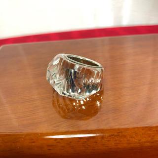 スワロフスキー(SWAROVSKI)のSWROVSKI スワロフスキー クリア リング 正規品(リング(指輪))