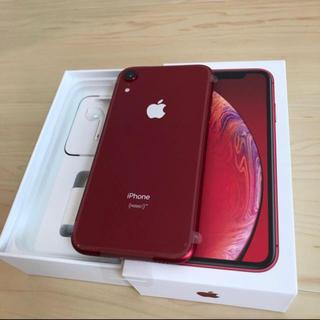 iPhone - 新品未使用 iPhoneXR 128GB SIMフリー 赤 レッド RED 本体