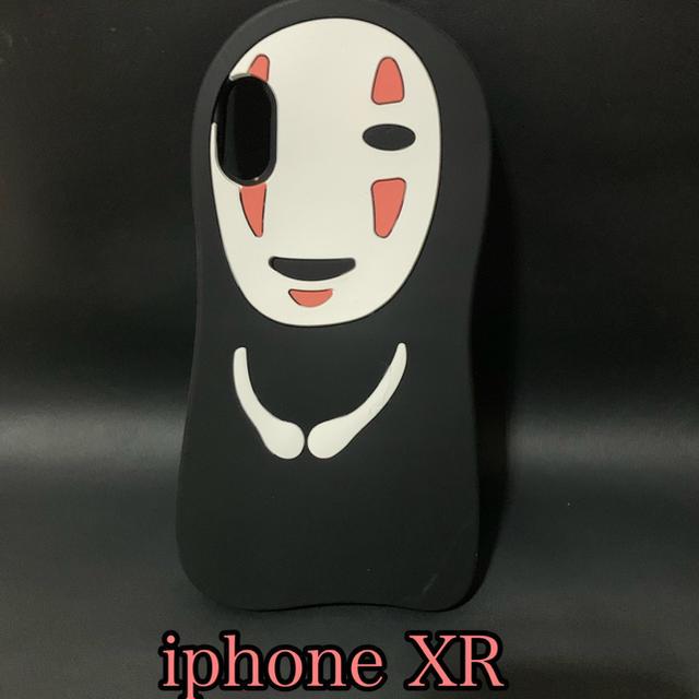 iPhone XR カオナシケースの通販 by ネココネコ ステッカーショップ|ラクマ