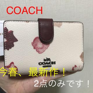 COACH - コーチ  二つ折り財布 鑑定済み正規品 新品 F39127