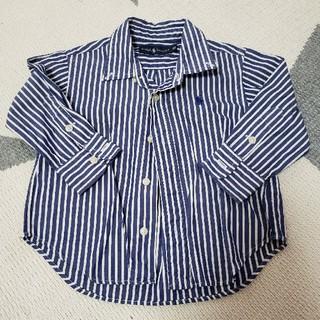 ラルフローレン(Ralph Lauren)のRalph Lauren  kids ストライプシャツ(80)(シャツ/カットソー)