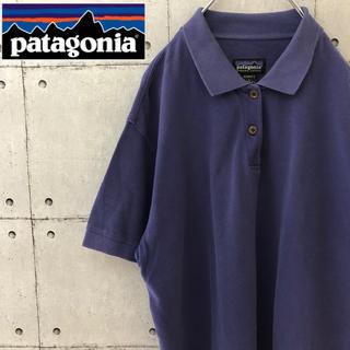 patagonia - 【大人気】90s パタゴニア ポロシャツ 紫