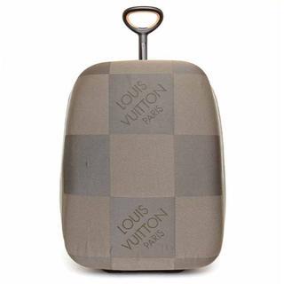 ルイヴィトン(LOUIS VUITTON)の激レア未使用♡ルイヴィトン…コランケン65・ダミエキャリーバッグ♡ガラガラカート(スーツケース/キャリーバッグ)