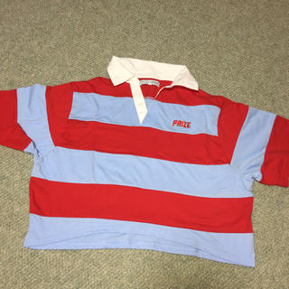 スピンズ(SPINNS)のショート丈ポロシャツ(ポロシャツ)