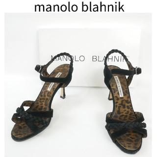 マノロブラニク(MANOLO BLAHNIK)のmanolo blahnik マノロブラニク 34 1/2 ハイヒール(ハイヒール/パンプス)