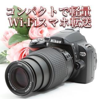 Nikon - ★初心者おすすめ!インスタアップも友達とシェアも楽々!ニコン D40X
