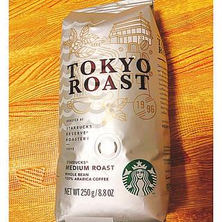 スターバックスコーヒー(Starbucks Coffee)のスターバックス コーヒー豆 トウキョウロースト(コーヒー)