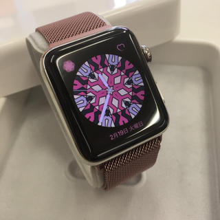 Apple Watch - Apple Watch series2 42mm  ステンレスモデル