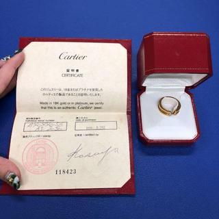 カルティエ(Cartier)のカルティエ 750YG C2リング 10P #56(リング(指輪))