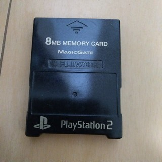 プレイステーション2(PlayStation2)のプレステ2 メモリーカード(家庭用ゲーム本体)