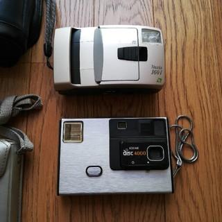 ニコン(Nikon)のカメラ Nikon Nuvis160i & Kodak disc camera (フィルムカメラ)