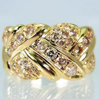 K18 ダイヤモンド リング 13号 [f455-7](リング(指輪))