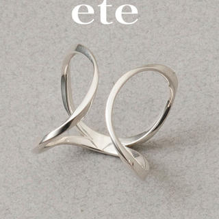 エテ(ete)のete エテ リング 指輪(リング(指輪))