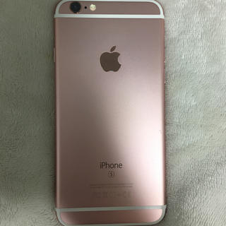 iPhone - バッテリー最大容量95% iPhone 6s Rose Gold 16 GB