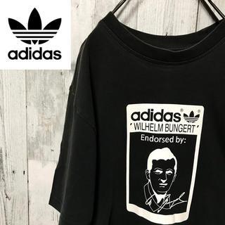 アディダス(adidas)のアディダスオリジナルス☆ビッグシルエット デザインTシャツ トレフォイル レア(Tシャツ/カットソー(半袖/袖なし))