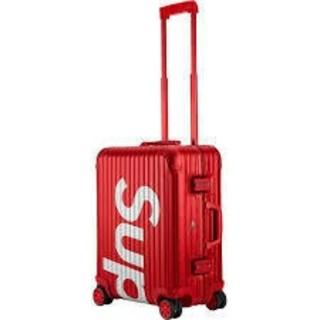 リモワ(RIMOWA)のシュプリーム リモワ スーツケース Topas Multiwheel 45L (トラベルバッグ/スーツケース)