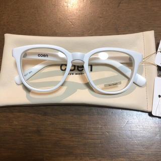コーエン(coen)のcoen  ファッションサングラス  新品未使用タグ付き‼️ケース付き‼️(サングラス/メガネ)