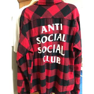 アンチ(ANTI)のAnti social social club シャツ(シャツ)