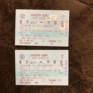 JR - 新幹線 東京 宇都宮