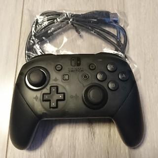 Nintendo Switch - Proコントローラー 任天堂 Switch 純正 プロコン