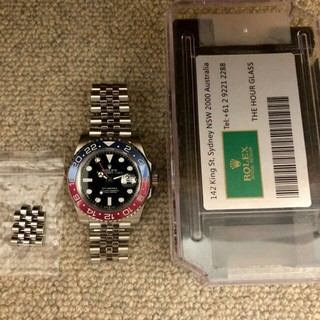 ROLEX - AR製 GMT マスターII 126710 BLRO ジュビリーブレスレット