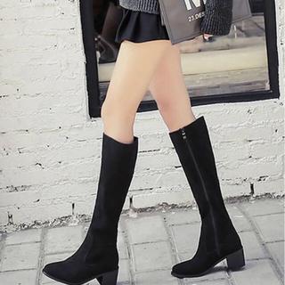 RANDA - 美品!スウェードロングブーツ